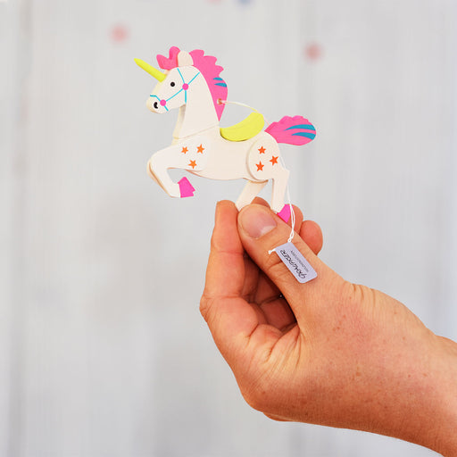 47720 Graupner Tree Ornament Unicorn Set of 6 02