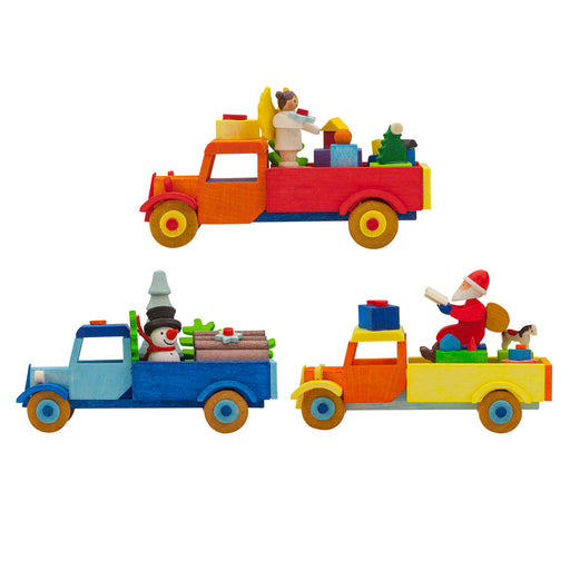 47800 Graupner Tree Ornament Set of 6 Trucks 01