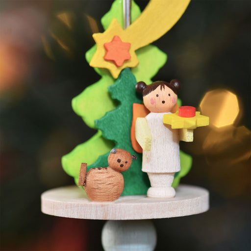 49120 Graupner Spindle Ornament Angle with Kitten 02