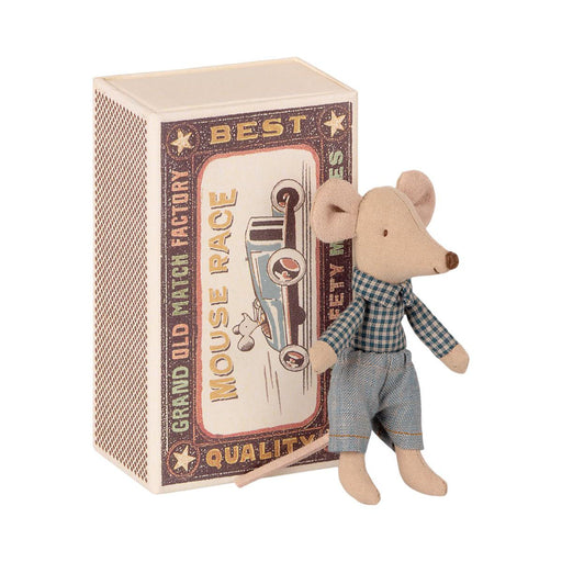 Maileg Little Brother Mouse in Box 01