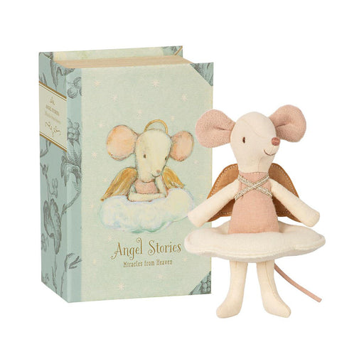 Maileg Big Sister Angel Mouse in box 01