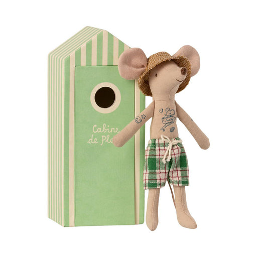 Maileg Dad Beach Mouse in Cabin 02