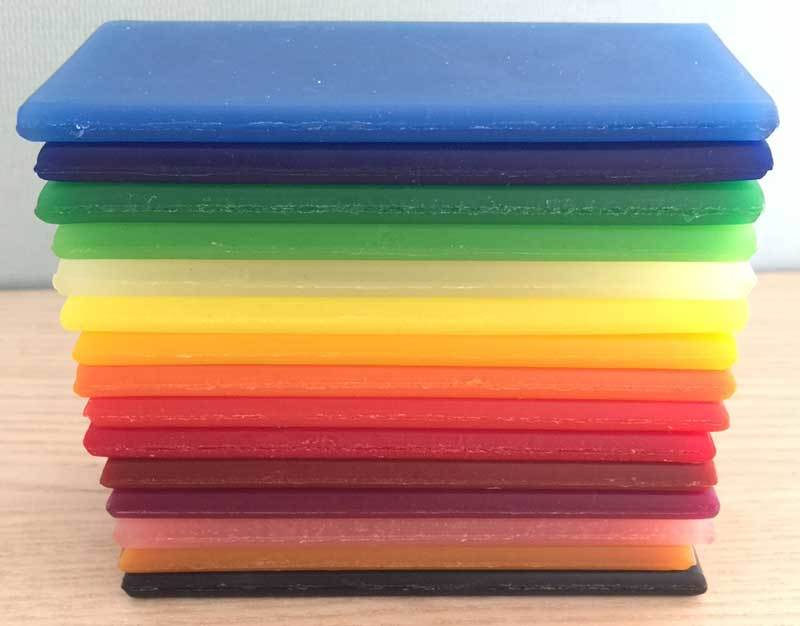 Stockmar Modelling Beeswax 15 Assorted Colours