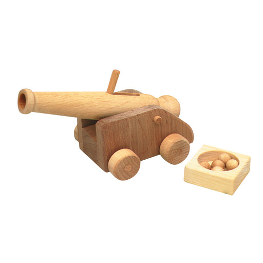 5540562 Ostheimer Kinderkram Cannon Small with 5 Cannonballs