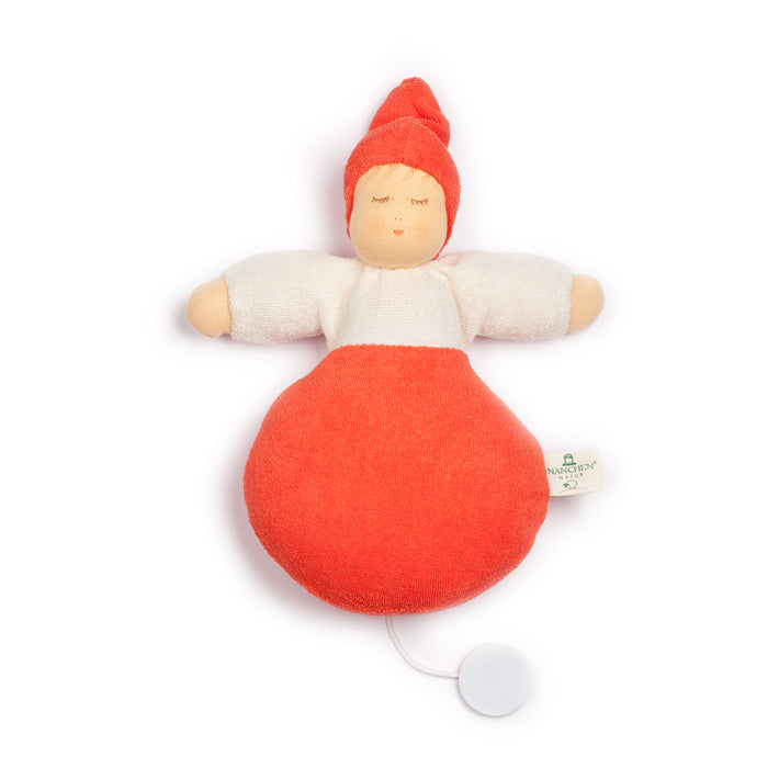 559402 Nanchen Natur Sweet Dreams Musical Pullstring Orange Red