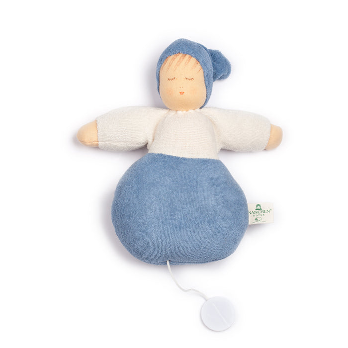 559405 Nanchen Natur Sweet Dreams Musical Pullstring Blue