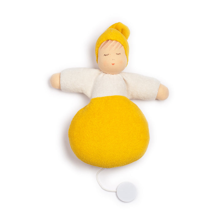 559409 Nanchen Natur Sweet Dreams Musical Pullstring Yellow