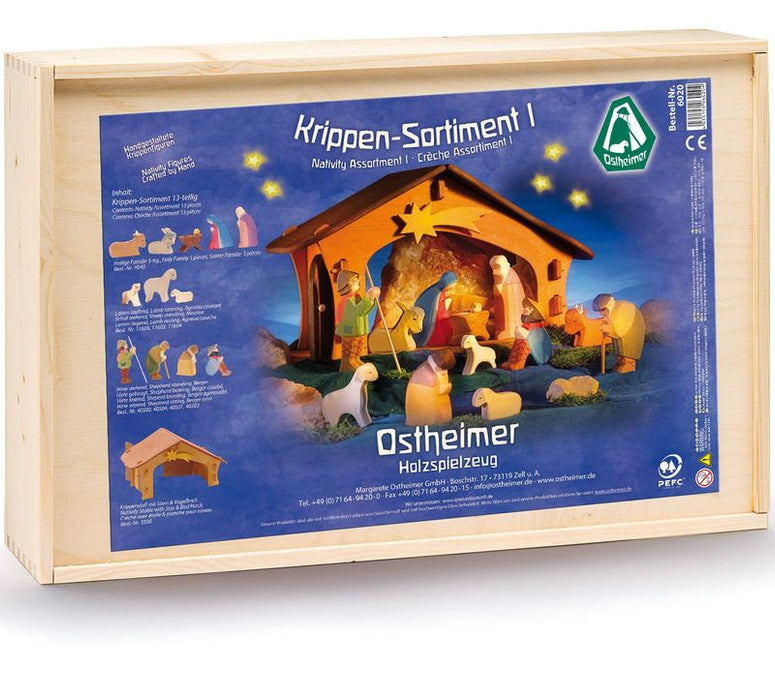 6020 Ostheimer Nativity Set 13 Pieces Australia
