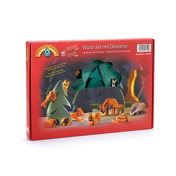 60304 Ostheimer Forest Set with Diorama 12 Pieces Australia