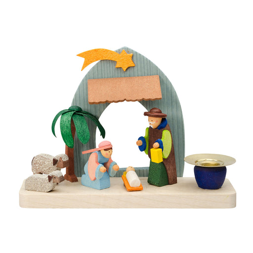 70500 Graupner Candle Holder The Nativity