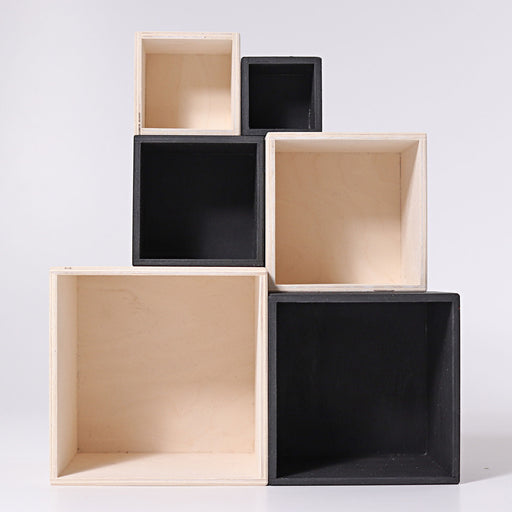 93040 Grimm's Monochrome Stacking Boxes