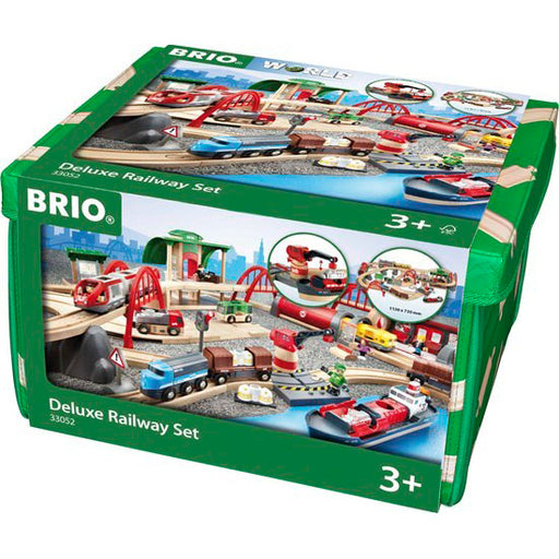 BRIO Deluxe Railway set 87 Pieces