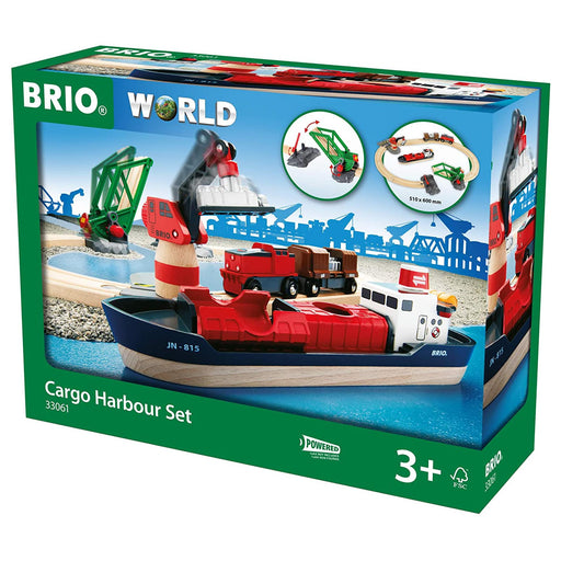 Brio Cargo Harbour Set 16 pieces 01