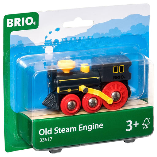 BRIO old steam engine 01