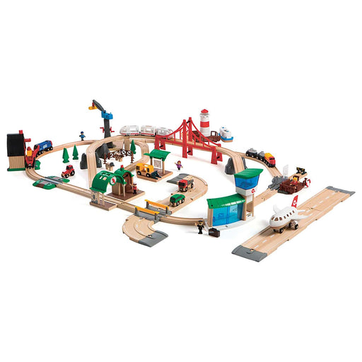 BRIO railway deluxe set 106 pieces 03