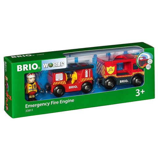 BRIO Emergency fire engine 01
