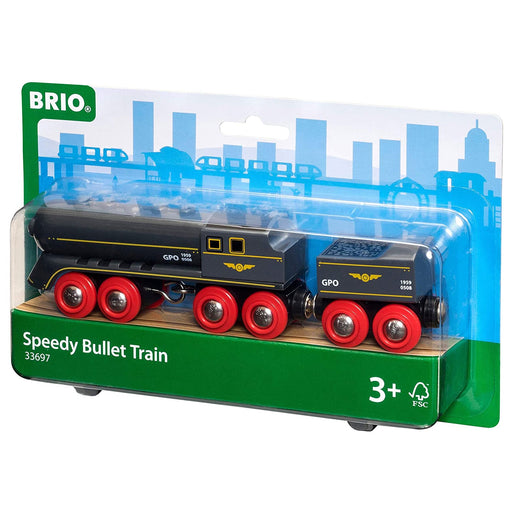 Brio Speedy Bullet train 01