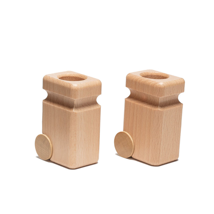 F20.81 Fagus Garbage Cans 2 pieces