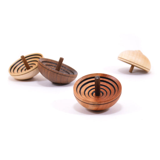 FA600 Mader Ufo Natural Spinning Top