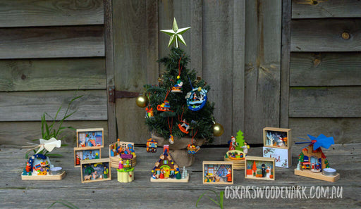 Graupner Wood Miniatures Christmas Collection