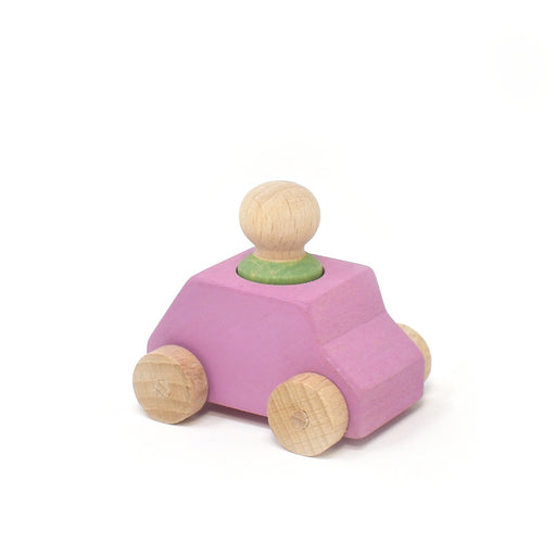 Lubulona Pink car with mint figure