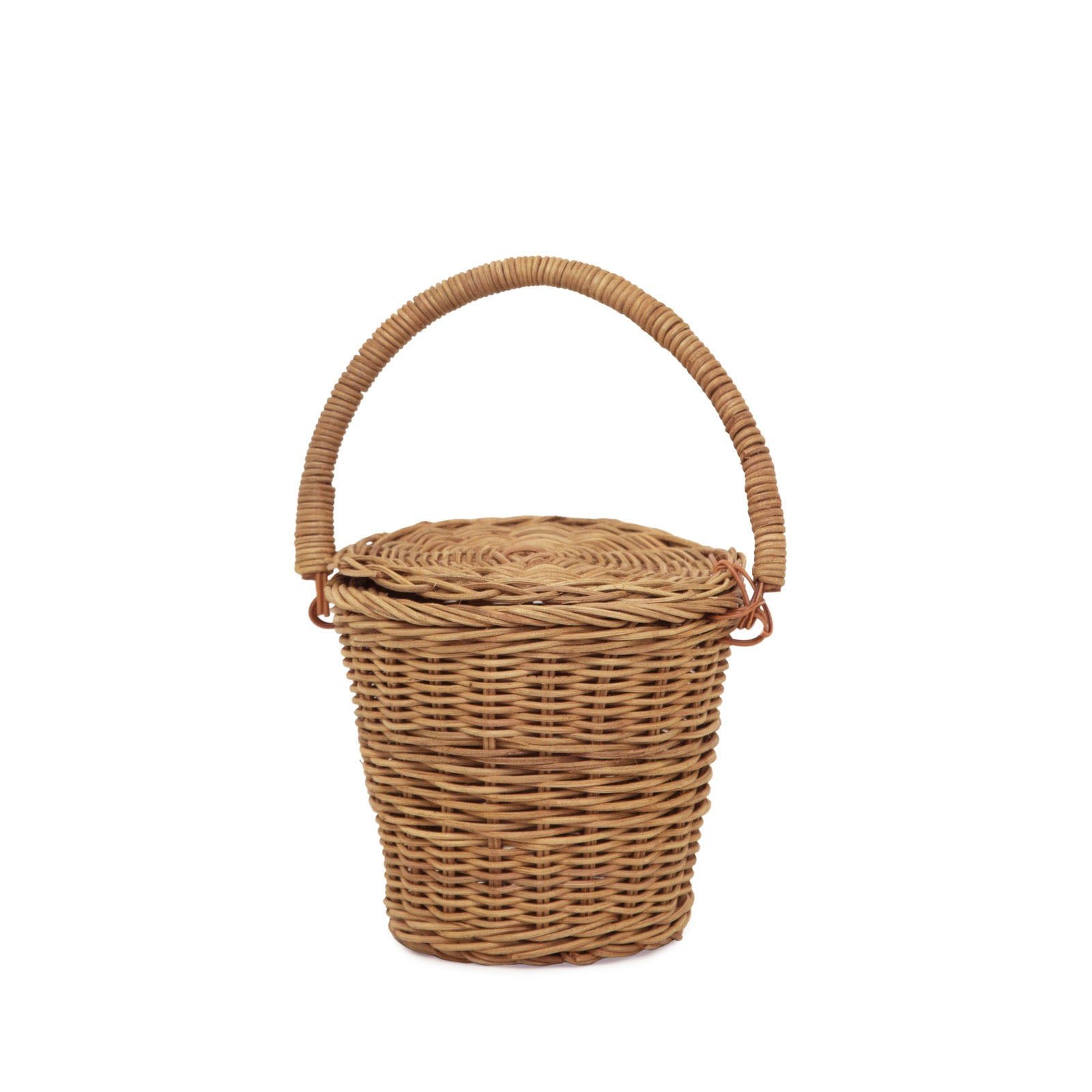 Ollie Ella Apple Basket Small