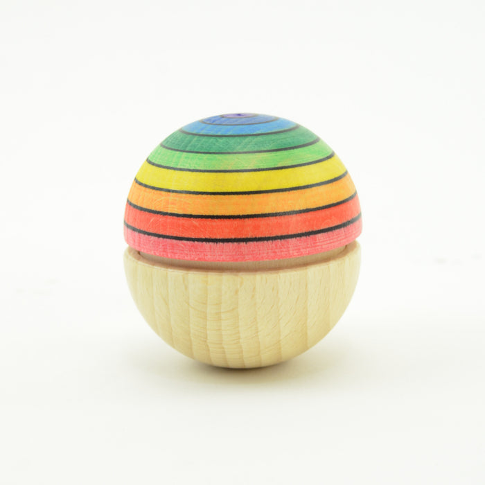 Mader Roly Poly Wiggle Ball Rainbow