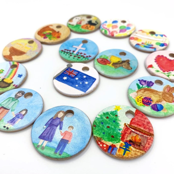 Australian Holiday Coins 14 Pieces Treasures from Jennifer