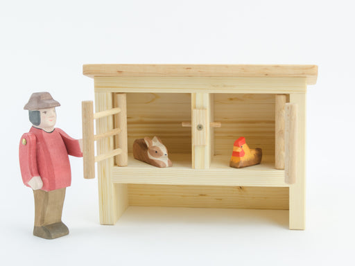 Drei Blaetter Rabbit Chicken Hutch