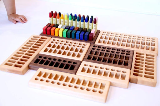 Crayon Holder 8 Blocks 8 Sticks