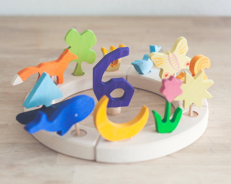 Grimm's Wooden Toys Decorative Wooden Figures