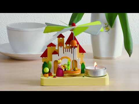 16200 Graupner Pyramid Angels with Tealight Video