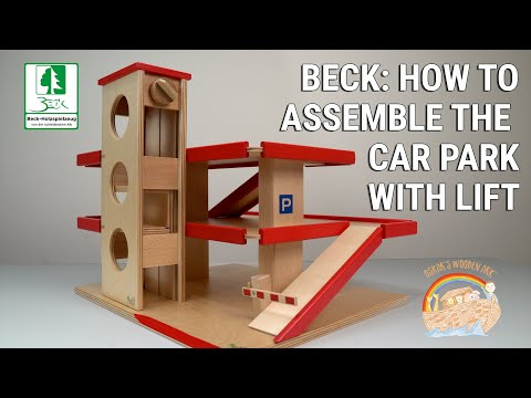 Beck Carpark with Lift How to Assemble
