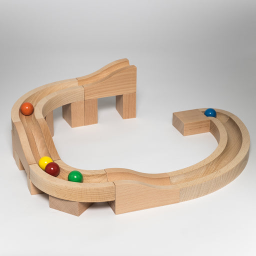 "Kaden Marble Run S ""Curves"" 80-05"