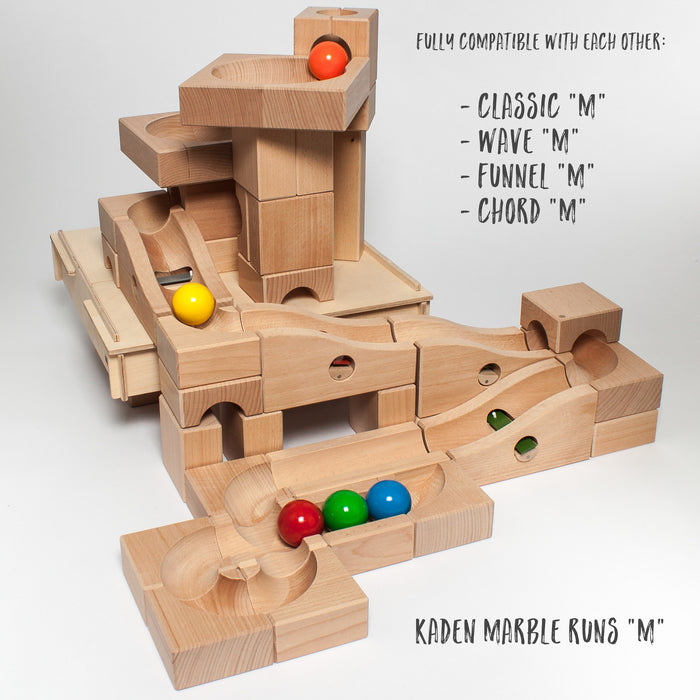 "Kaden Marble Run M ""Funnel"""