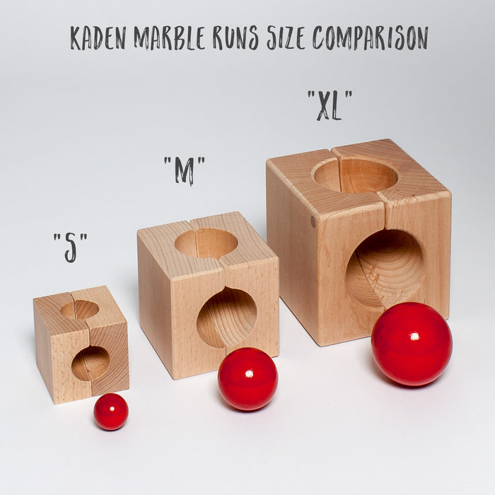 "Kaden Marble Run M ""Wave"""