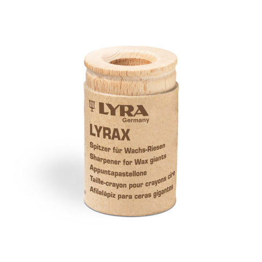 Lyra Wooden Sharpener for Stockmar Crayon Sticks and Lyra Groove Triple One