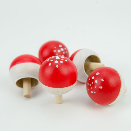 Mader Fly Agaric Spinning Turn Top