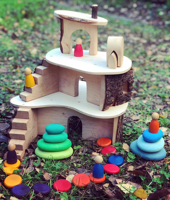Magic Wood Small Classic Treehouse From Oskar's Wooden Ark