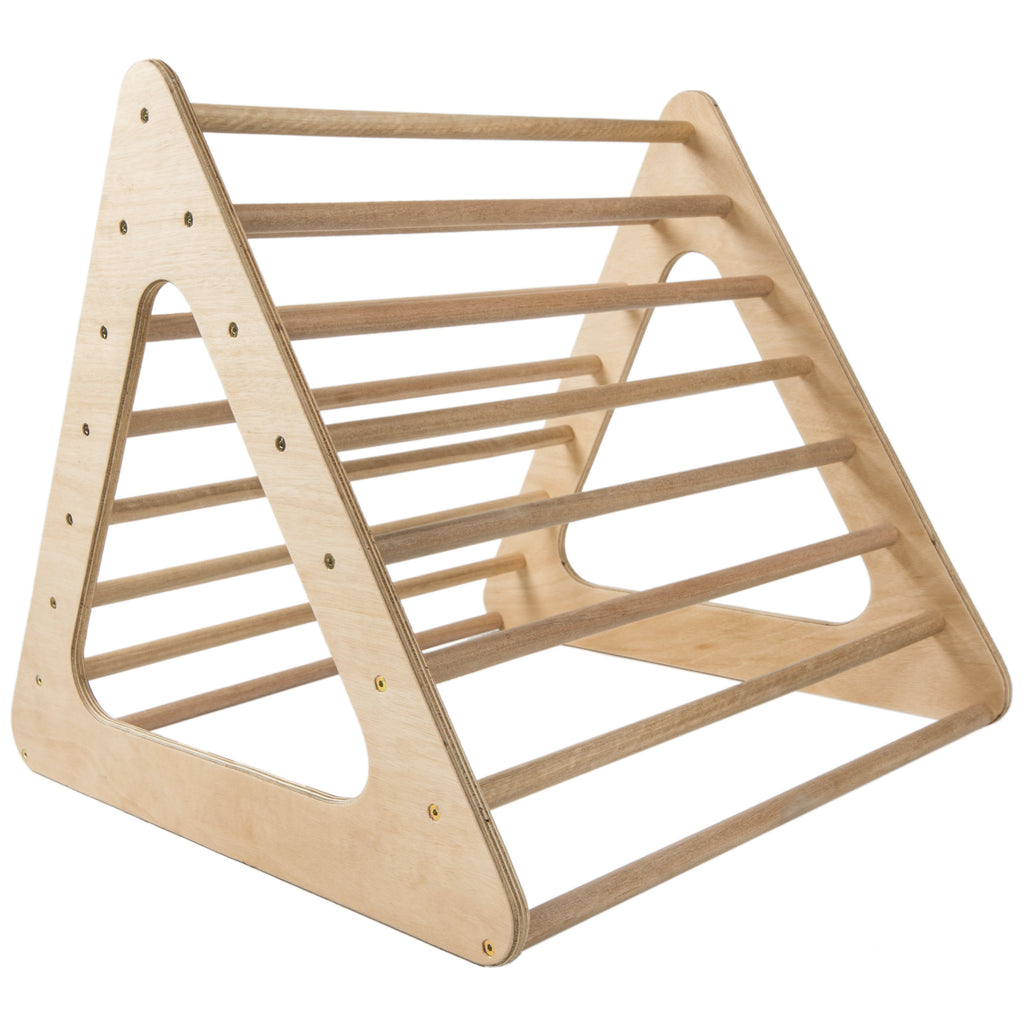 Moov Baby Pikler Wooden Natural Climbing Triangle Made In