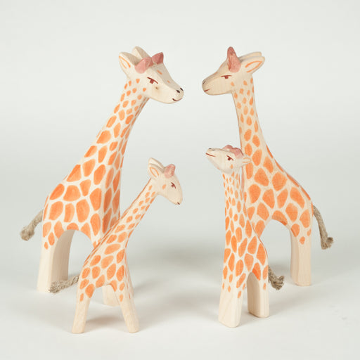 Ostheimer Giraffe Family Set 4 pieces
