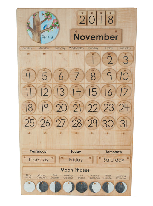 Perpetual Montessori Classroom Calendar Treasures From Jennifer