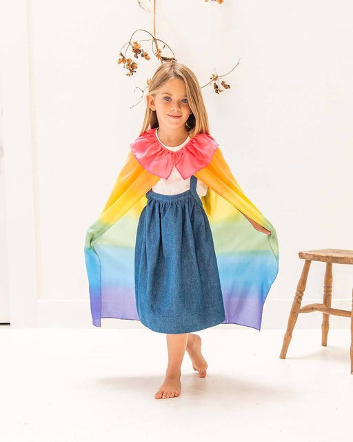 Sarah's Silks Cape Rainbow