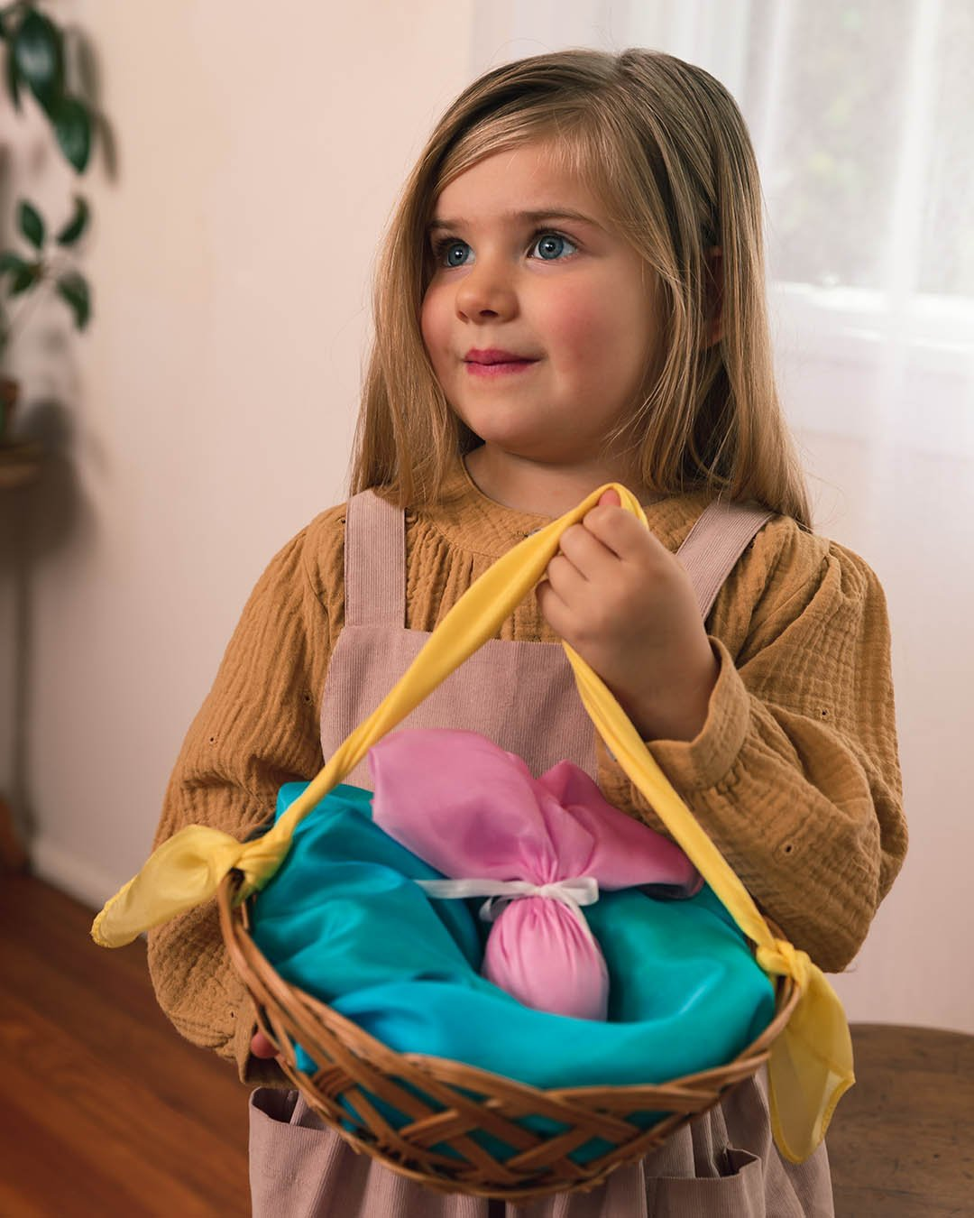 Sarah's Silks Easter Mini Playsilk Set