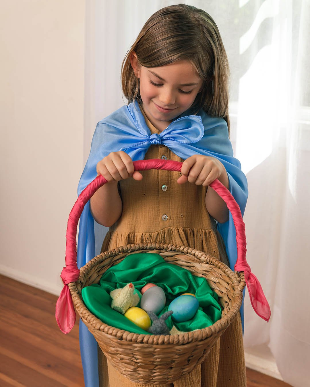 Sarah's Silks Primary Easter Playsilk Set