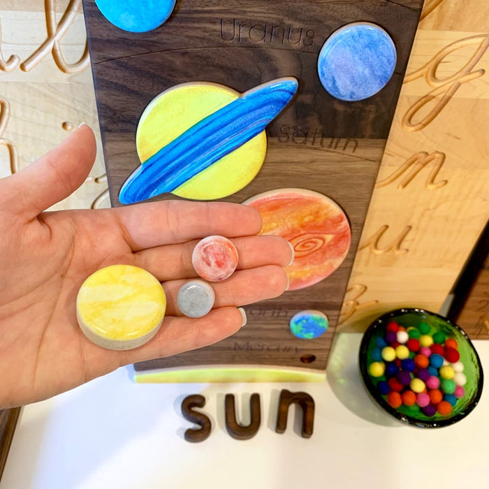Solar System Puzzle Treasures from Jennifer
