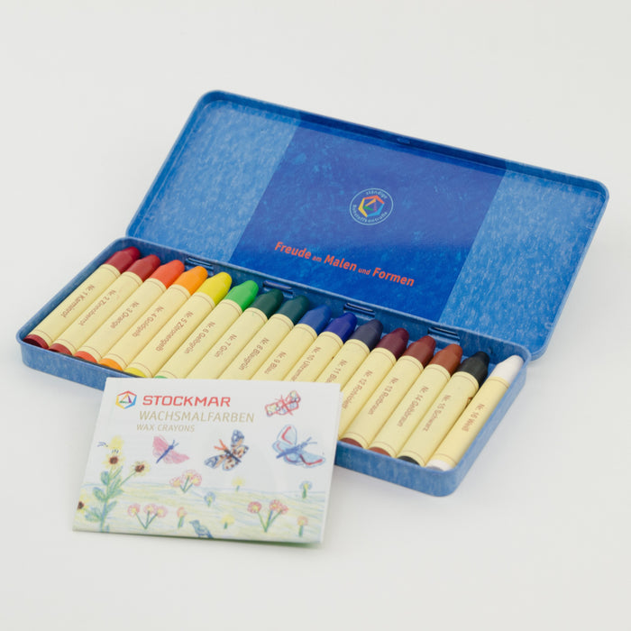 Stockmar Wax Stick Crayons