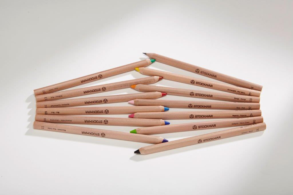 Stockmar Coloured Pencils in Tin 12+1