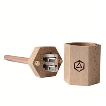 Stockmar Wooden Dual Pencil Sharpener