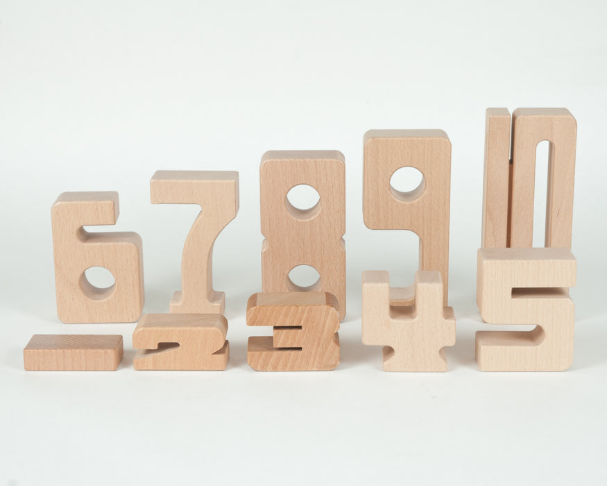 SumBlox Building Blocks Individual Numbers